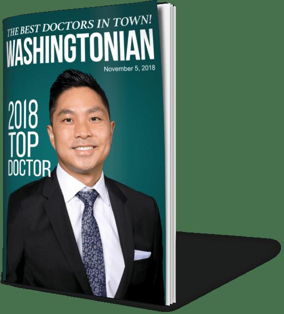 Dr. Lee on the Washingtonian Magazine Cover