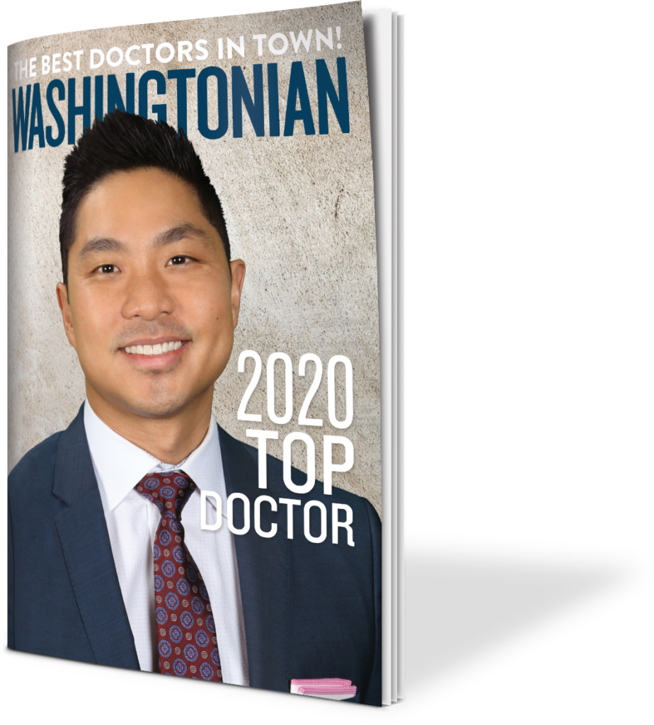 Dr. Lee on the Washingtonian Magazine Cover